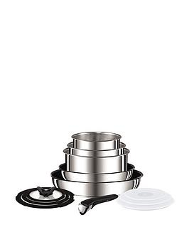 tefal-ingenio-13-piece-saucepan-set--nbspstainless-steel