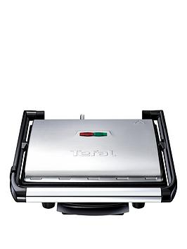 Tefal  Gc241D40 Inicio Grill, 2000W - Stainless Steel