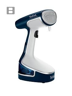 tefal-access-steam-dr8085-handheld-garmentclothes-steamer--nbspdeep-dive-blue-amp-white
