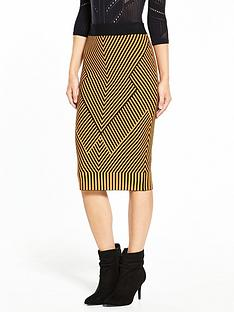 karen-millen-chevron-knit-collection-skirt