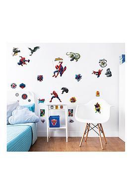 walltastic-marvel-spiderman-wall-stickers-12-pack