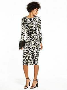 v-by-very-jersey-printed-midi-dress-animal-print