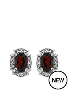 love-gem-sterling-silver-oval-garnet-and-white-diamond-stud-earrings