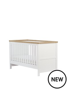 mothercare-lulworth-cot-bed-white