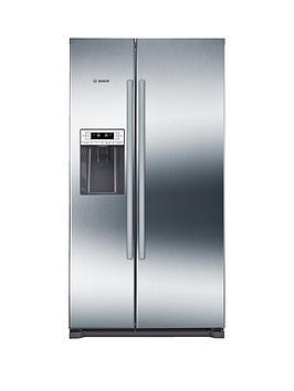 bosch-serienbsp6nbspkai90vi20g-american-stylenbsp90cmnbspnofrost-fridge-freezer-with-non-plumb-water-dispenser-graphitenbsp