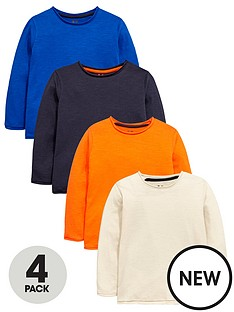 mini-v-by-very-boys-4-pack-roll-edge-long-sleeve-tshirts