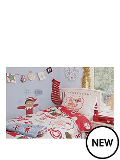 elf-on-the-shelf-double-duvet-set