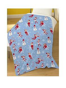 elf-on-the-shelf-christmas-blanket