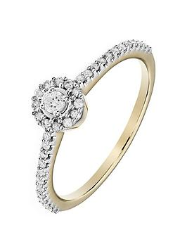 love-diamond-9ct-yellow-gold-23-points-white-diamond-halo-ring-with-diamond-set-shoulders