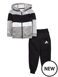 adidas-toddler-boy-fz-fleece-hooded-suit