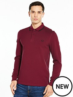 fred-perry-twin-tipped-long-sleeve-polo
