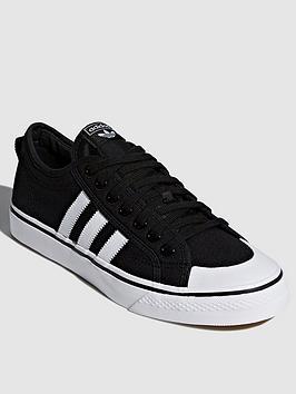 adidas Originals Adidas Originals Nizza - Black/White Picture