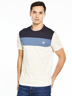 fred-perry-colour-block-panel-t-shirt