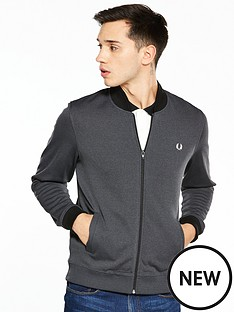 fred-perry-fred-perry-tipped-bomber-neck-track-jacket