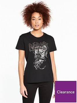 replay-studded-t-shirt-ndash-black