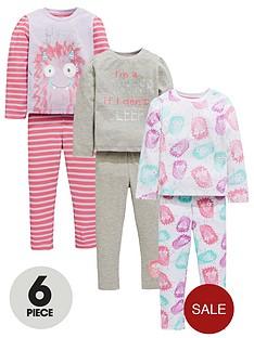 mini-v-by-very-girls-3-pack-monster-pyjamas
