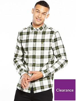 lyle-scott-lyle-amp-scott-check-flannel-shirt