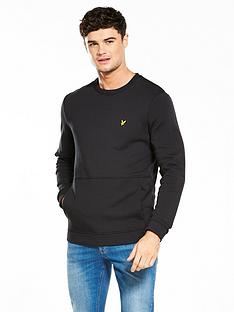 lyle-scott-lyle-amp-scott-front-pocket-sweatshirt