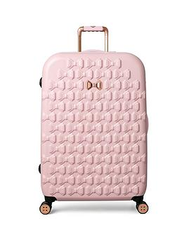 Ted Baker Ted Baker Beau Pink 4 Wheel Large Case Picture
