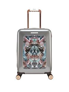ted-baker-mirrored-minerals-4-wheel-cabin-case