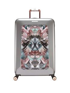 ted-baker-mirrored-minerals-4-wheel-large-case