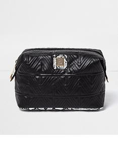 river-island-black-make-up-bag-quilted