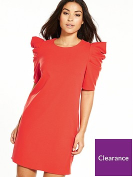 miss-selfridge-volume-sleeve-dress