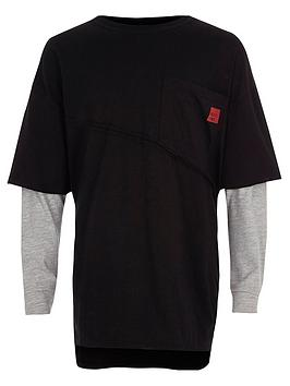 river-island-boys-black-long-sleeve-double-layer-t-shirt
