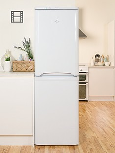 indesit-caa55nf-55cm-frost-free-fridge-freezer-white