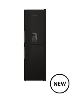 hotpoint-xal85t1ikwtdnbsp60cm-frost-free-fridge-freezer-with-water-dispenser-black
