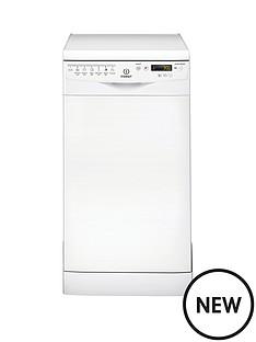 indesit-dsr57m96z-10-place-slimline-dishwasher-white