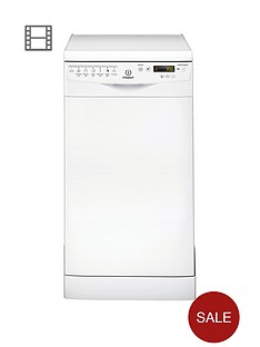 indesit-dsr57m96z-10-place-slimline-dishwasher-white