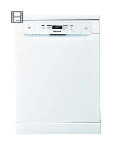 hotpoint-hfo3c22wf-14-place-full-size-dishwasher-white