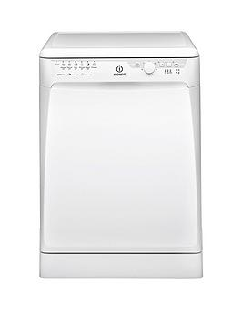 Indesit   Dfp27B1 13-Place Full Size Dishwasher With Quick Wash - White