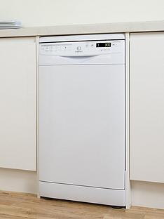 indesit-dsr57b1-10-place-slimline-dishwasher-white