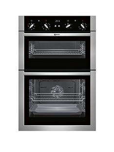 neff-u14m42n5gbnbsp60cm-built-in-double-oven-with-circothermregnbsp--stainless-steel