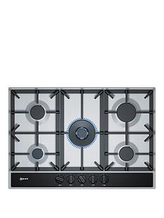 neff-t27da69n0-75cm-built-in-gas-hob-with-flameselectreg-control--nbspstainless-steelnbsp