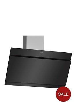 neff-d95ihm1s0b-90cm-chimney-hood-black