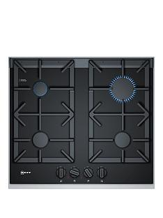 neff-t26ta49n0-60cmnbspbuilt-in-gas-hob-with-flameselectnbspcontrol-black