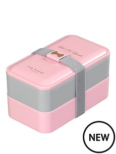 ted-baker-ted-baker-lunch-stack-pink-and-grey