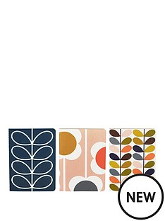 orla-kiely-orla-kiely-notebooks-set-3-a6-multi-stemflower