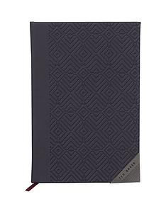 ted-baker-a5-notebook-blue-cadet