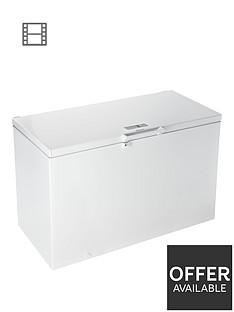 hotpoint-cs1a400fmh-400-litre-chest-freezer-white