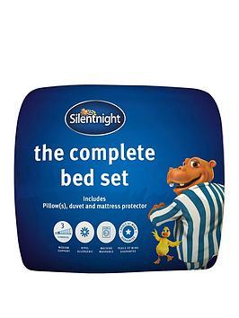 Silentnight Silentnight Complete Bed Set - Includes 10.5 Tog Duvet,  ... Picture