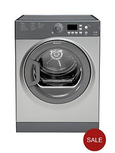 hotpoint-ftvfg65bgg-6kg-load-vented-sensor-tumble-dryer-graphite