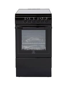 indesit-i5vshk-50cm-electric-cooker-with-ceramic-hob-black