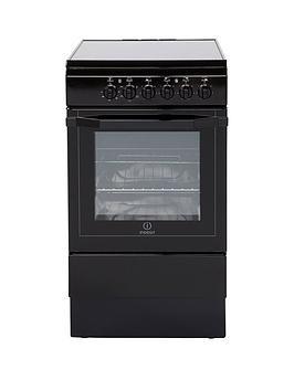 indesit-i5vshk-50cm-electric-cooker-with-ceramic-hob-black