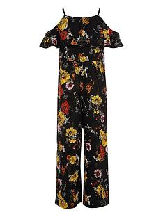river-island-girls-black-floral-print-frill-jumpsuit