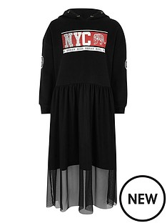 river-island-girls-black-039nyc039-hoodie-mesh-skirt-dress