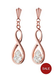 love-gold-9ct-rose-gold-figure-of-8-cz-drop-earrings